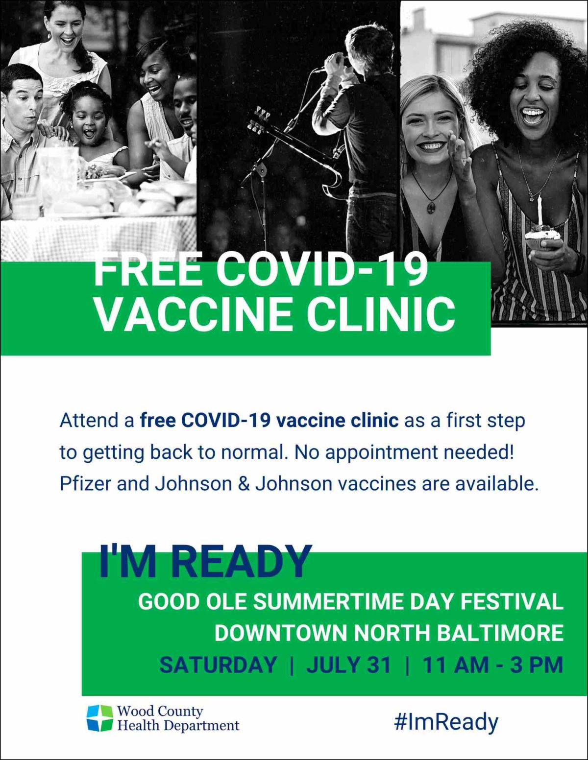 Get a Covid-19 vaccine next weekend at Festival