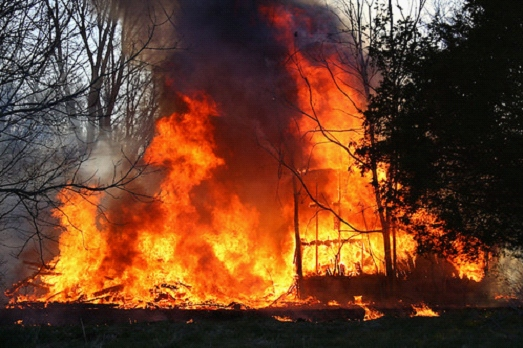 There Were 649 Wildfires in Ohio Last Year